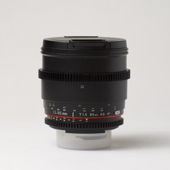 Rent Rokinon 85mm T 1.5 Cine Lens (Nikon F Mount)