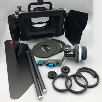 Rent Matt Box with Filter Holder + Follow Focus Complete KIT! 15mm rods, DSLR Lens Adapters