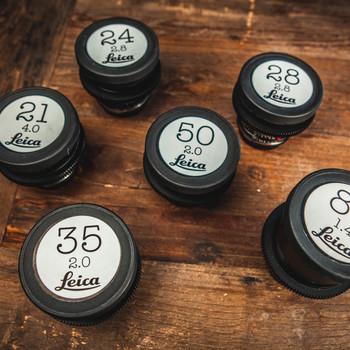 Rent Leica R Cine Lens Set 21, 24, 28, 35, 50, 80