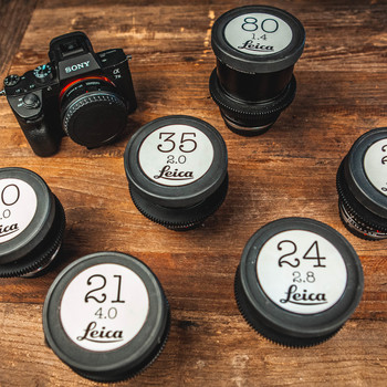 Rent Sony a7 III with Leica R Cine Lenses