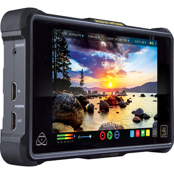 """Rent Atomos Shogun Inferno 7"""" with tons of batteries and SSDs"""