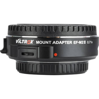 Rent Viltrox EF-M2 II Canon EF Lens to Micro Four Thirds Camera Mount Adapter
