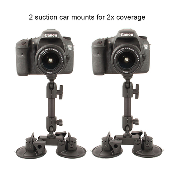 Rent 2x Delkin Fat Gecko Dual Suction Camera Mount: Car or Glass