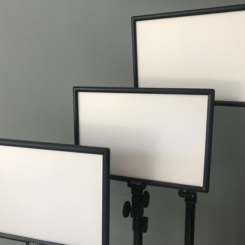 Rent 3 pc LED light panels with stands