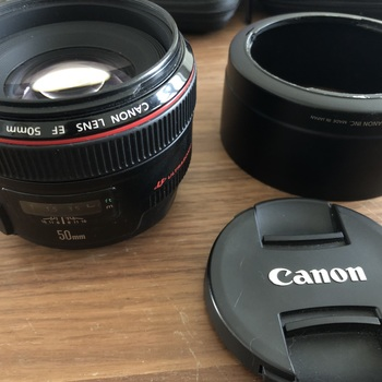 Rent Canon 50mm 1.2f - Great condition