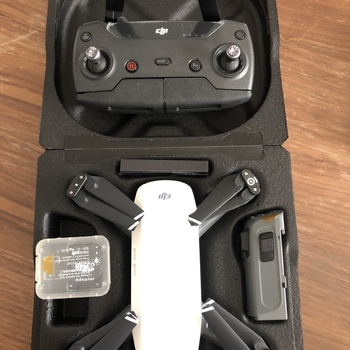 Rent Never used DJI Spark Drone with Remote