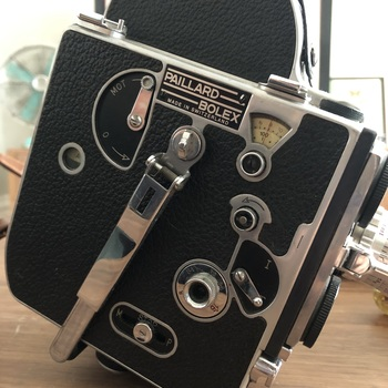 Rent Excellent working 16mm Bolex movie camera