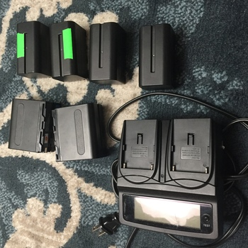 Rent Sony LP Battery(6x) Kit with Dual Charger