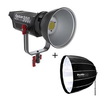 Rent Aputure 300D LED Light + Light Dome