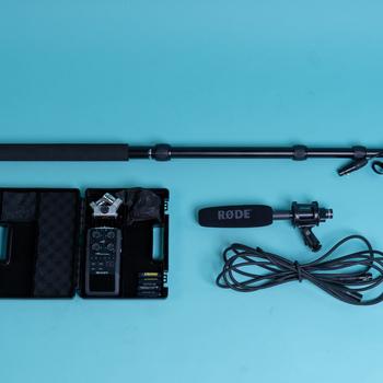 Rent Location Audio Kit Rode NTG2 + Zoom H6 + Boompole Bundle