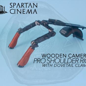 Rent Shoulder Rig v3 Pro + Dovetail Clamp Wooden Camera( Leather or Wood Handles)