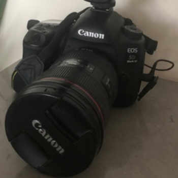 Rent 5D Mark IV, 24-70mm f2.8 II, 256GB SD Card, 2 Batteries, Battery Charger, and Tripod