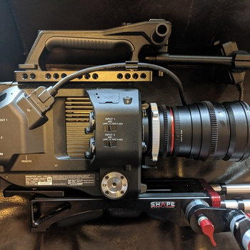 Rent Sony FS7 with Metabones and Canon Lenses