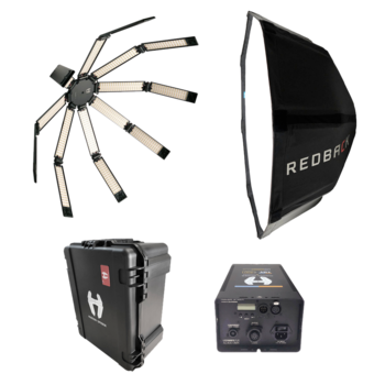 Rent Hudson Spider Redback w/ 6' Stealth Softbox