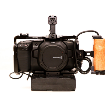 Rent Perfect Full RIG 6K Blackmagic Pocket Cinema Camera - NEW!