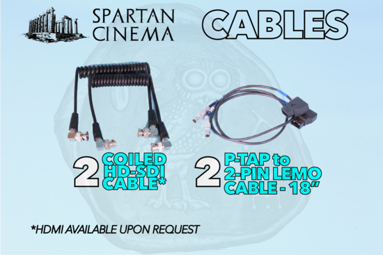 Smallhd focus5rx 1to1 cables