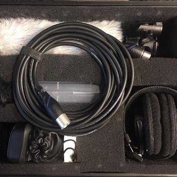 Rent Audio Kit (Lav, Shotgun, Recorder)