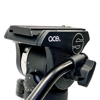 Rent Sachtler Ace XL tripod w/ Flowtech 75 carbon fiber legs