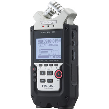 Rent Zoom H4N PRO Multitrack Recorder + 32GB SD Card