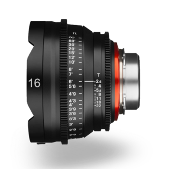Rent Rokinon Cine Xeen Lens 16mm T2.2