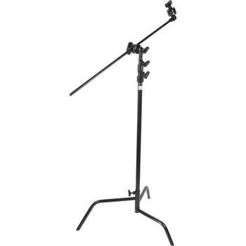 Rent Black C-Stand, 10.4 ft Ht, Turtle base