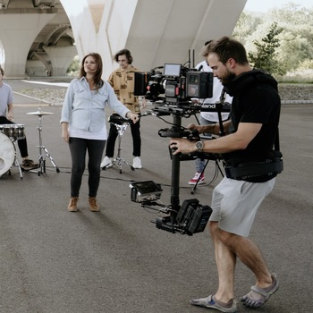 Rent Steadicam Operator with M-1 Volt and G-70X rig