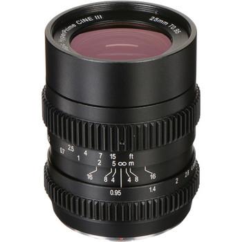 Rent SLR Magic 25mm t0.95 hyperprime cine iii
