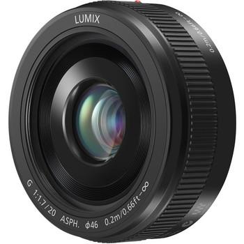 Rent Panasonic Lumix G 20mm f/1.7 II