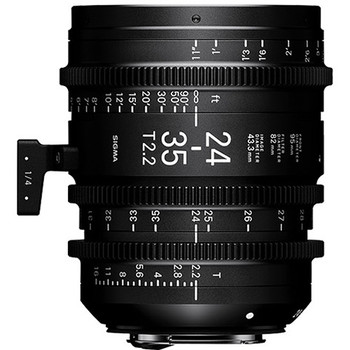 Rent Sigma 24-35mm T2.2 FF Zoom Lens (Canon EF, Feet)