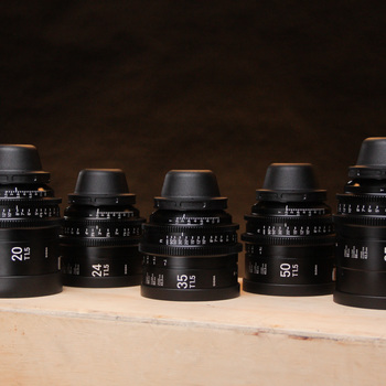 Rent Sigma Cine FF High Speed Primes PL (20, 24, 35, 50, 85)