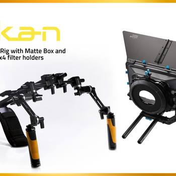Rent Shoulder Rig with Matte Box and 4x4 filter holders