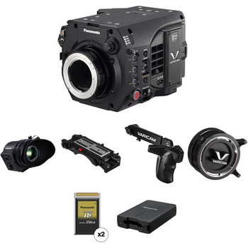 Rent Panasonic Varicam LT ProEx Kit with EF/PL, EVF, (2) 256 Cards, Shoulder Mount, Etc.
