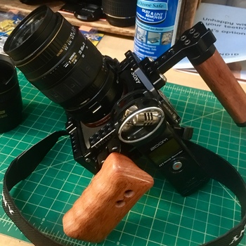 Rent Handheld Sony a7S II Rig with PL, Canon EF, and Nikon F Adaptors
