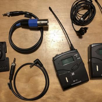 Rent Sennheiser G4 Wireless Lav (#1 of 2 available)
