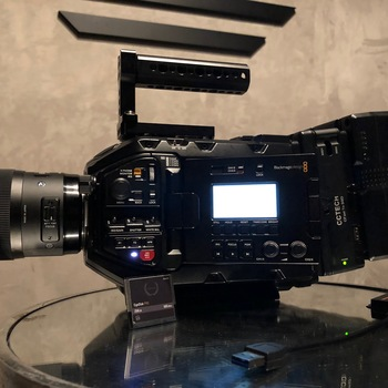 Rent Blackmagic Ursa Mini Pro 4.6k with SSD Card and Reader