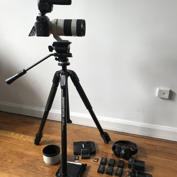 Rent Sony a7sii with Zoom lens, tripod, shotgun mic