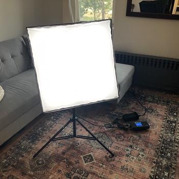 Rent Intellytech LiteCloth LC-160 2 x 2' Foldable LED Mat Kit
