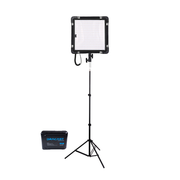 Rent  Dracast Yoga Series LED 500 Bi-Color Flexible Panel with V-Mount Battery and Stand - Lightweight!