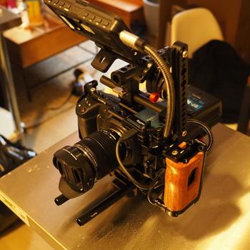 Rent Black Magic Pocket Cinema Camera 4K + Cage +Kit+ VMount Batteries + Field Monitor