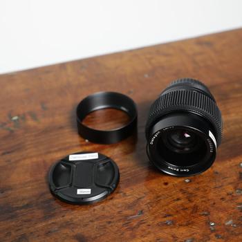Rent Zeiss Contax 35mm f/1.4 + Leitax EF Mount + Focus Gear