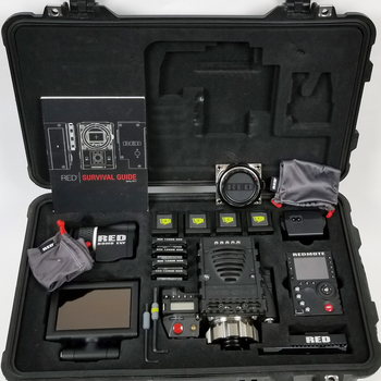 Rent Full production Ready Red Epic Mysterium X with accessories.