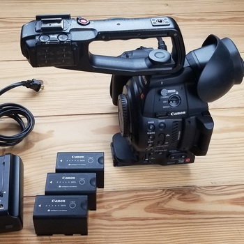 Rent The Canon EOS C100 Mark II Cinema EOS Camera with Dual Pixel CMOS AF