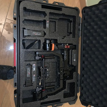 Rent DJI Ronin Gimbal | 2 Batteries  |  Tripod/Jib Mount | EZ Rig Vest I Portkeys BM5 2000 NIT Monitor