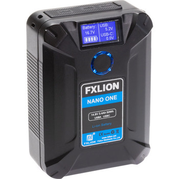 Rent Ultra-Compact V-Mount Battery - Fxlion NANO ONE 50Wh 14.8V
