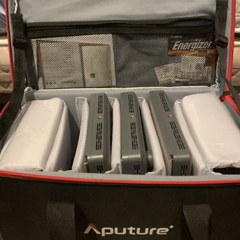 Rent Aputure Amaran HR672 LED Panel Kit