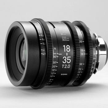 Rent Sigma 18-35mm ZOOM CINE T2 Lens for EF, PL or Sony E-Mount