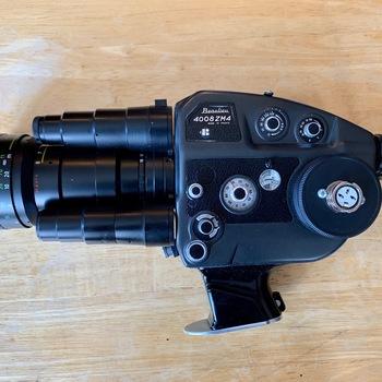 Rent Beaulieu 4008 ZM 4 w Schneider 1.4/6-70 and External Battery
