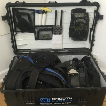 Rent Full sized SteadiCam Rig with 3A Arm, Master Vest, and Pro Sled