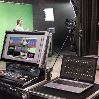 Rent Blackmagic ATEM Television Studio Pro 4K Live Switcher