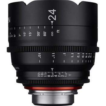 Rent Rokinon Xeen Cine 24mm T1.5 Lens for PL Mount Full Frame